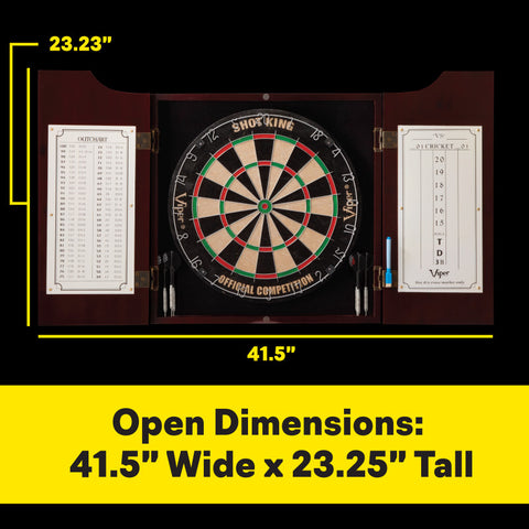 Image of Viper Hudson All-In-One Dart Center Dartboard Cabinets Viper