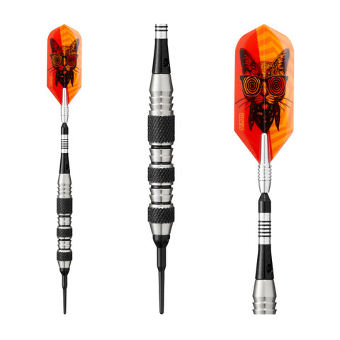 Image of Viper The Freak Soft Tip Darts Knurled and Shark Fin Barrel 18 Grams