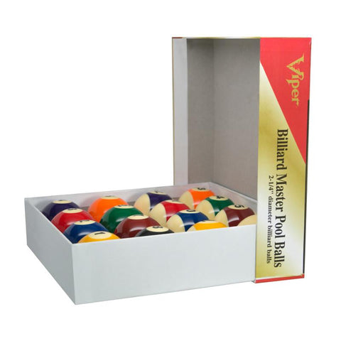 Image of Viper Billiard Master Pool Ball Set