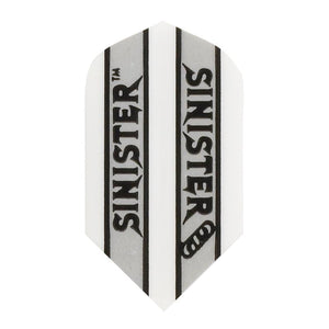 V-100 Sinister Flights Slim White Dart Flights Viper
