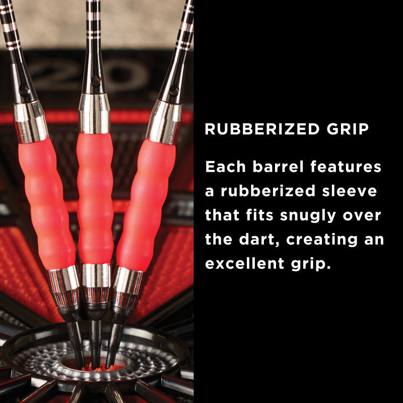 Viper Sure Grip Soft Tip Darts Pink 18 Grams