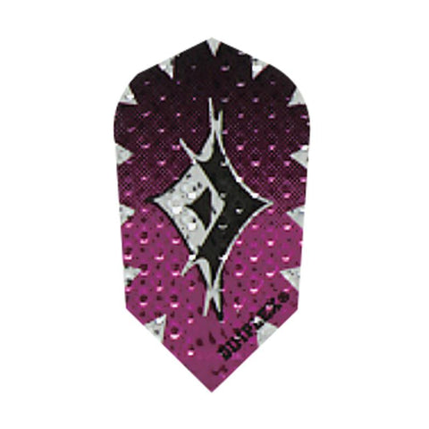 Dimplex Slim Foil Purple Flights Dart Flights Harrows