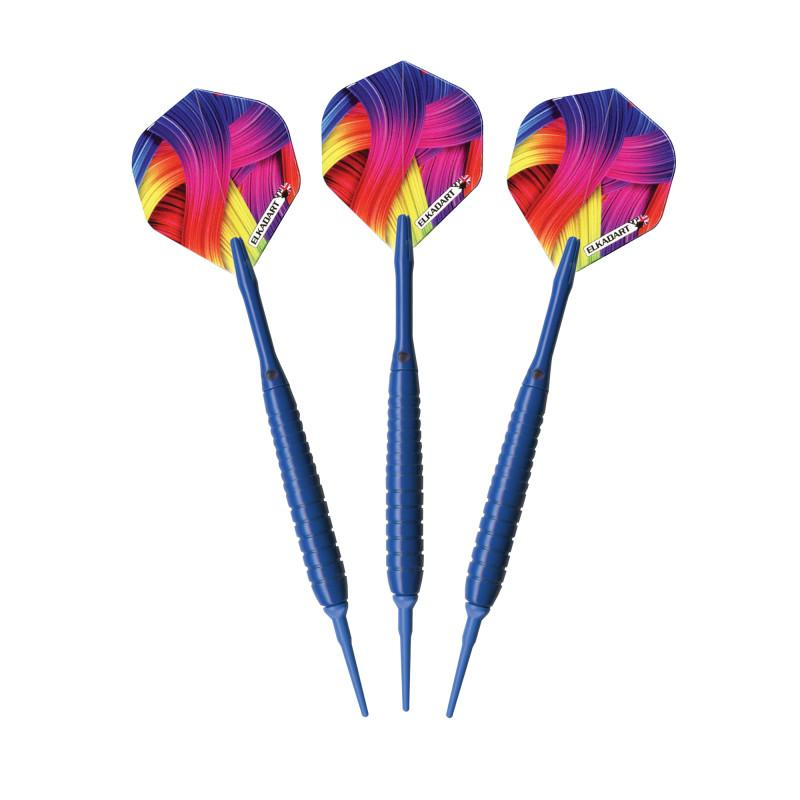Elkadart Neon Blue Soft Tip Darts 18 Grams
