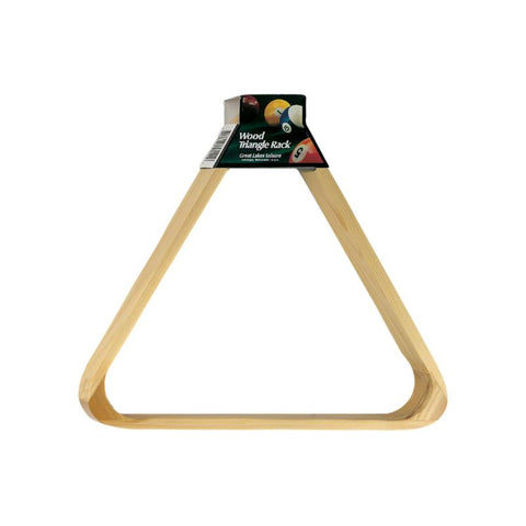 Viper Wood Triangle Ball Rack Billiard Accessories Viper