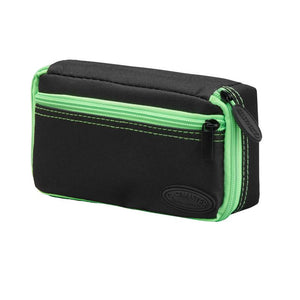 Casemaster Plazma Dart Case Black with Green Trim