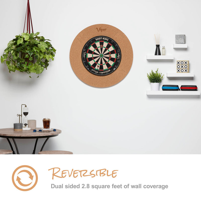Viper Wall Defender Dartboard Surround Cork