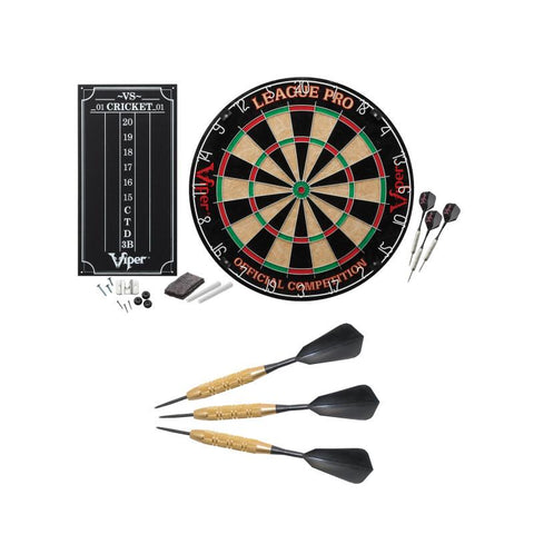 League Pro & Highlander Dart Bundle by Viper Darts Viper