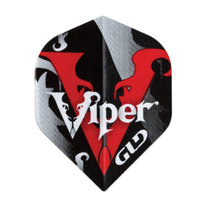 Viper Dart Accessory Bundle with Poly Royal Hard Flights, Nylon Medium Shafts, Flight Punch, Shaft Remover, Set of 3 Stem Rings and Aluminum Deflectors