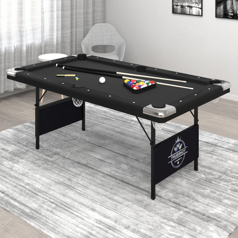 Image of Fat Cat Trueshot 6' Folding Billiard/Pool Table