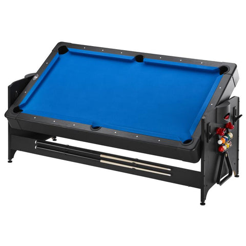 Image of Fat Cat Original 3-in-1 Blue 7' Pockey™ Multi-Game Table Multi-Tables Fat Cat