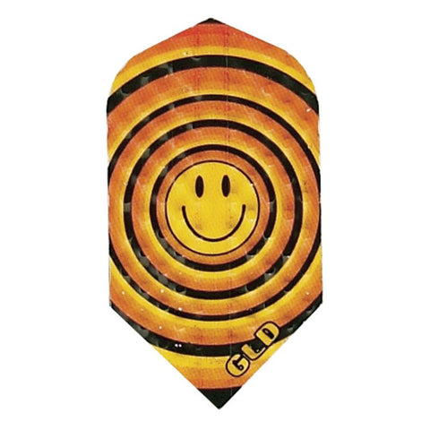 Dimplex Slim Smiley Face Flights Dart Flights Harrows