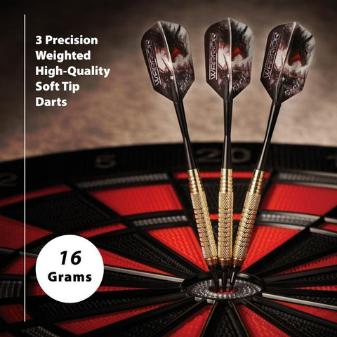 Image of Fat Cat Warrior Darts Soft Tip Darts 16 Grams Soft-Tip Darts Fat Cat