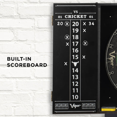 [REFURBISHED] Viper Steadfast Backboard with Shot King Sisal Dartboard Refurbished Refurbished GLD Products