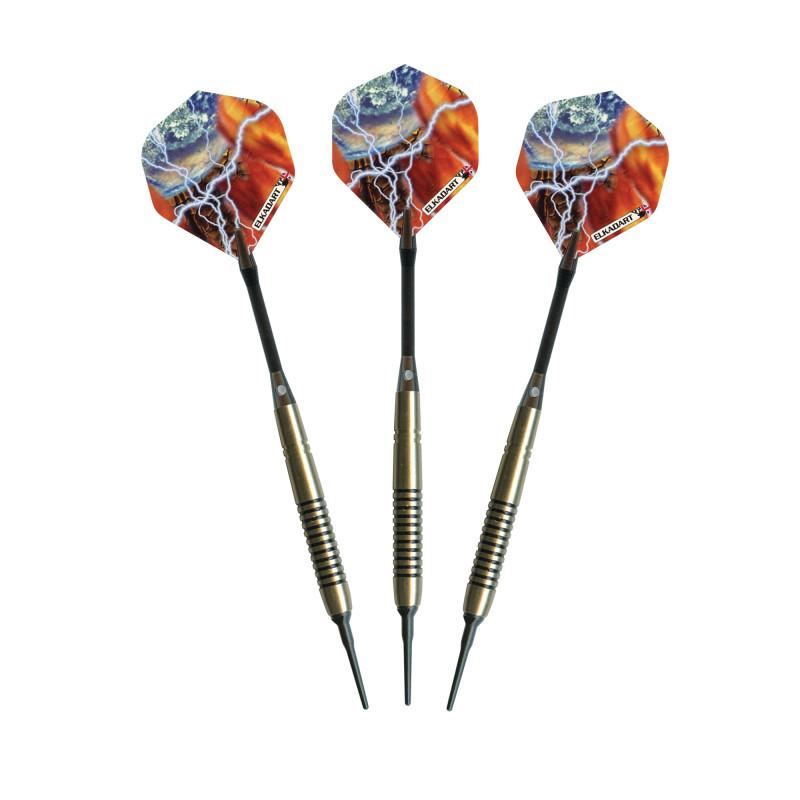 Elkadart Storm Soft Tip Black Rings 14 Grams Soft-Tip Darts Elkadart