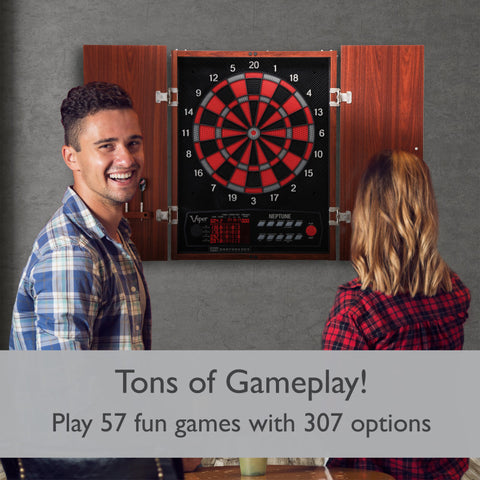 Viper Neptune Electronic Dartboard and Cabinet Hybrid