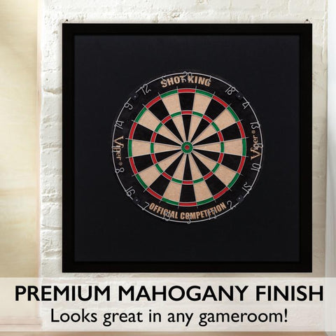 Image of Viper Framed Dartboard Backboard Dartboard Cabinets Viper