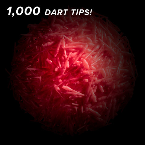 Viper Tufflex Tips III 2BA Pink 1000Ct Soft Dart Tips
