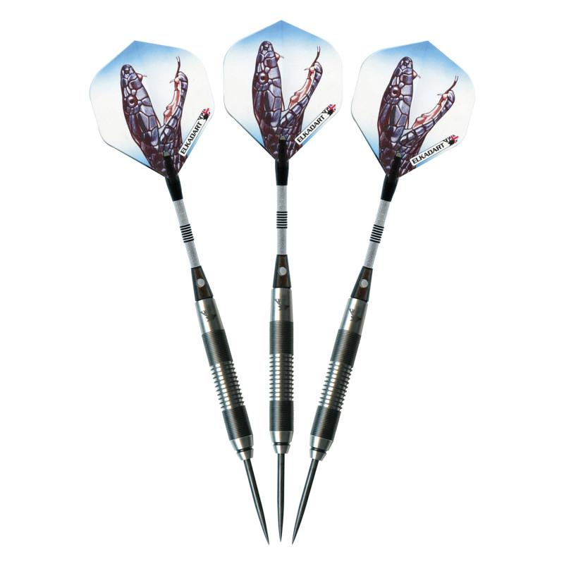 Elkadart Black Mamba Tungsten Steel Tip Darts 24 Grams