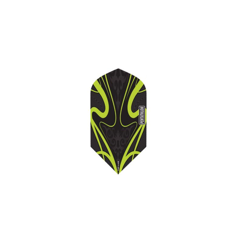 Pentathlon TDP-LUX Slim Green Flights Dart Flights Viper