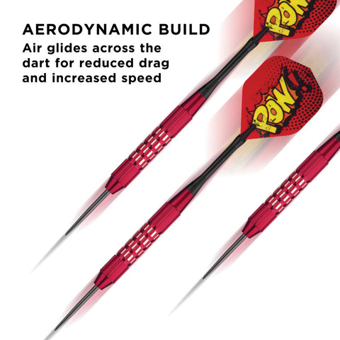Viper Comix Steel Tip Darts Red 22 Grams