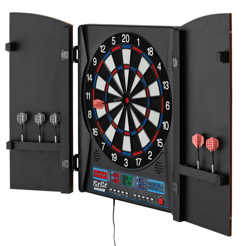 "Image of Fat Cat Electronx Electronic Dartboard, 13.5"" Compact Target"