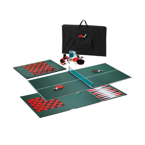 Image of Viper Portable 3-in-1 Table Tennis Top Table Tennis Table Viper
