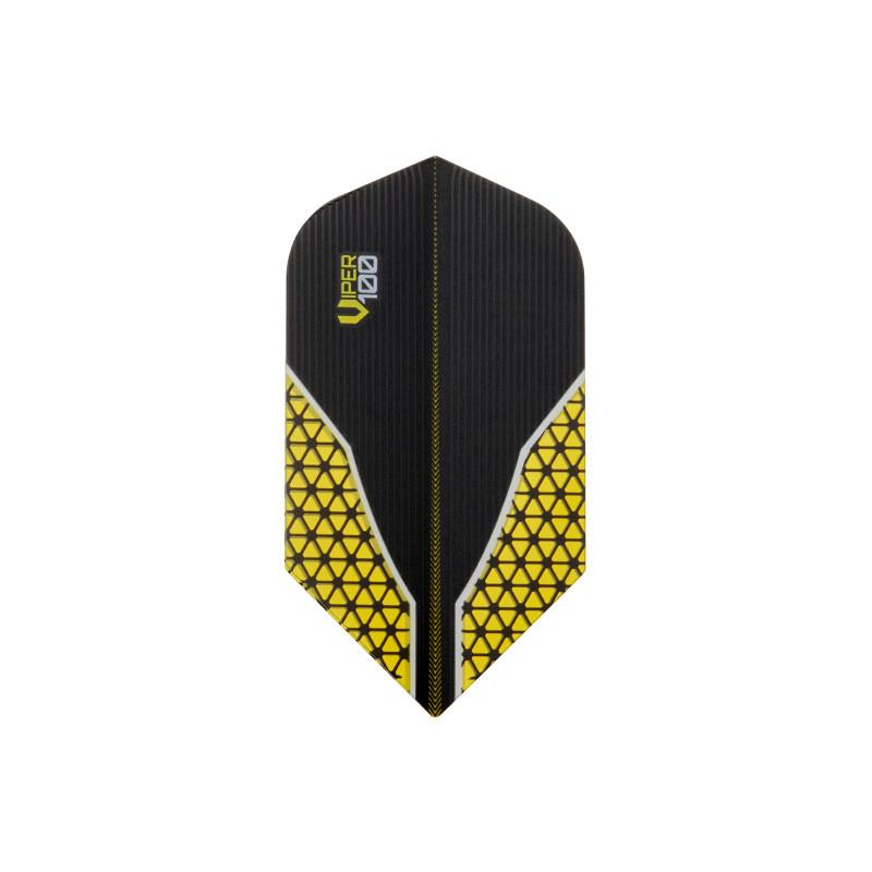 Dart Flights V-100 Slim Yellow
