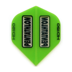 Pentathlon HD 150 Standard Green Flights Dart Flights Viper