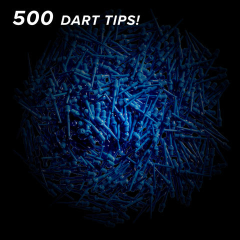 Viper Tufflex Tips II 2BA Blue 500Ct Soft Dart Tips