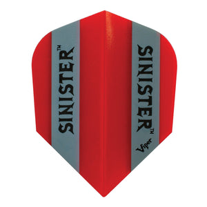 Sinister 100 Flights Standard Translucent Red