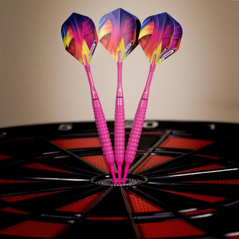 Image of Elkadart Neon Pink Soft Tip Darts 18 Grams