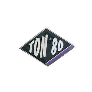 Tournament Pins Ton 80