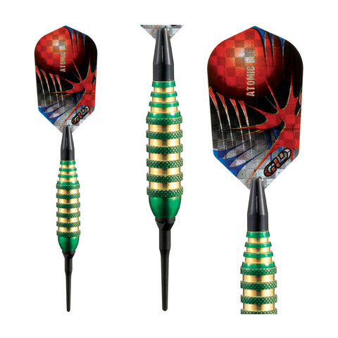Viper Atomic Bee Darts Green Soft Tip Darts 16 Grams
