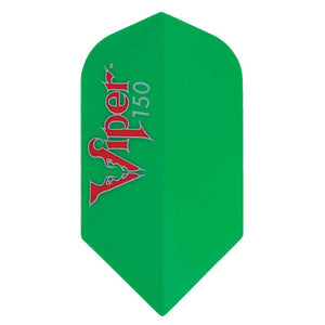 V-150 Flights Slim Green Dart Flights Viper