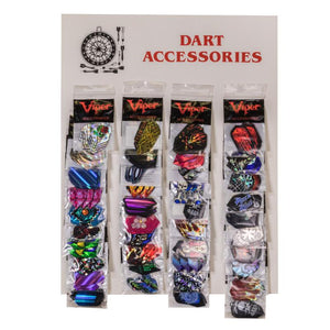 Viper Accessory Card with 40 V-Lux Glitter Flights Dart Flights Viper