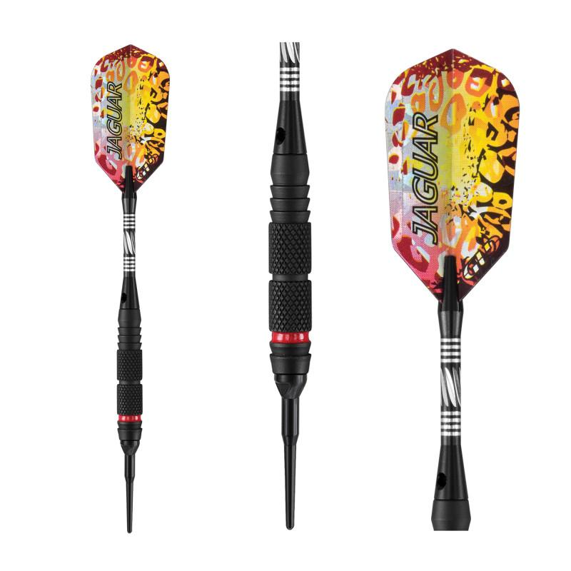 Viper Jaguar Darts 80% Tungsten Soft Tip Darts 2 Knurled Rings 18 Grams Soft-Tip Darts Viper