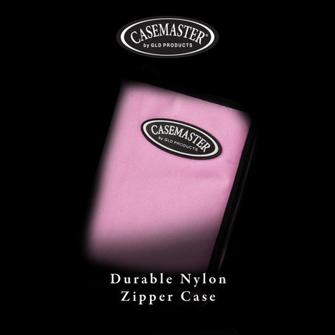 Image of Casemaster Select Pink Nylon Dart Case Dart Cases Casemaster