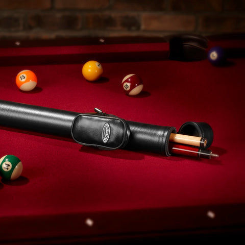 Image of Casemaster Q-Vault Supreme Black Cue Case Billiard Cue Case Casemaster