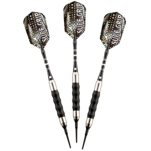 Viper Sure Grip Black Soft Tip Darts 18 Grams