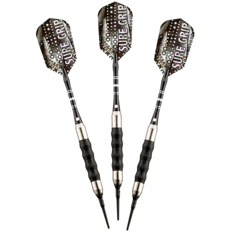Image of Viper Sure Grip Black Soft Tip Darts 18 Grams