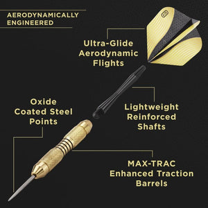 Fat Cat Deluxe Steel Tip Darts 23 Grams