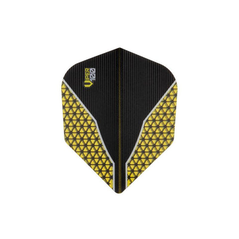 V-100 Flights Standard Yellow Dart Flights Dart Flights Viper