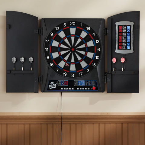 Fat Cat Mercury Electronic Dartboard Soft-Tip Dartboard Fat Cat