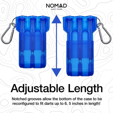 Casemaster Nomad Adjustable Dart Case Blue