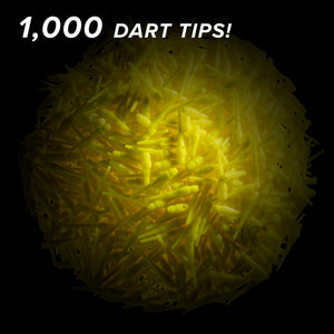 Viper Tufflex Tips III 2BA Yellow 1000Ct Soft Dart Tips