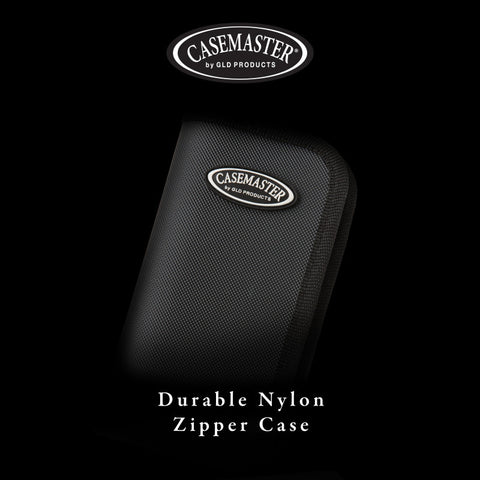 Image of Casemaster Deluxe Black Nylon Dart Case