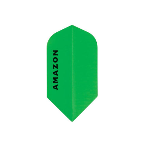 Amazon Slim Neon Green Flights Dart Flights Viper