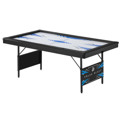 Image of Fat Cat Polar Blast 6' Folding Air Hockey Table Table Hockey Table Fat Cat