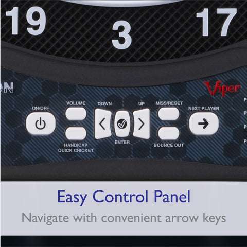 Viper Ion Illuminated Electronic Dartboard