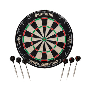 Viper Shot King Sisal Dartboard & Phoenix MMXI Multi-Game Table